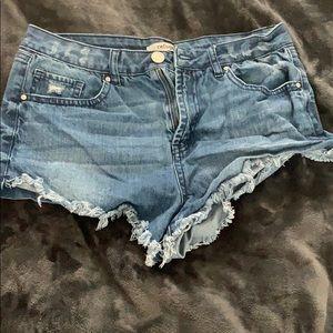 Women's refuge Jean shorts